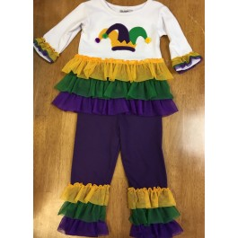 Mardi Gras Girls' Outfit