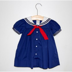 Petit Ami Sailor Dress, Navy