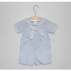 Petit Ami Sailor Suit, Light Blue
